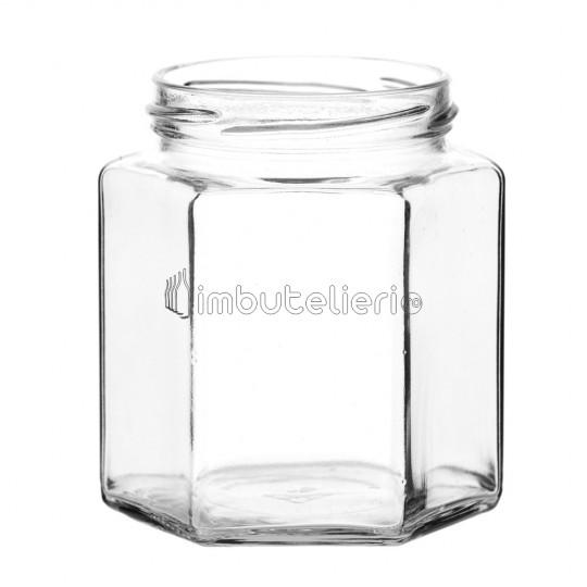 Borcan 196 ml Hexagonal