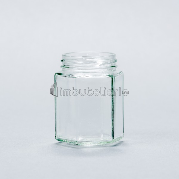 Borcan 196 ml Hexagonal