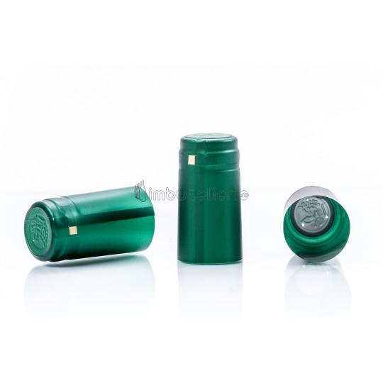 Capison termocontractibil PVC 31x60 mm verde