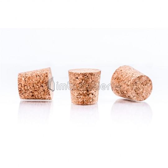 Dop conic de pluta aglomerata 30x24/20 mm