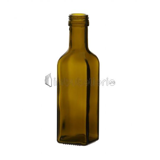 Sticla 100 ml HT Maro cu filet