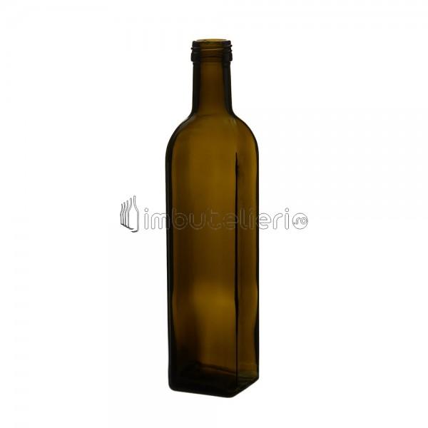 Sticla 500 ml Maraska maro cu filet