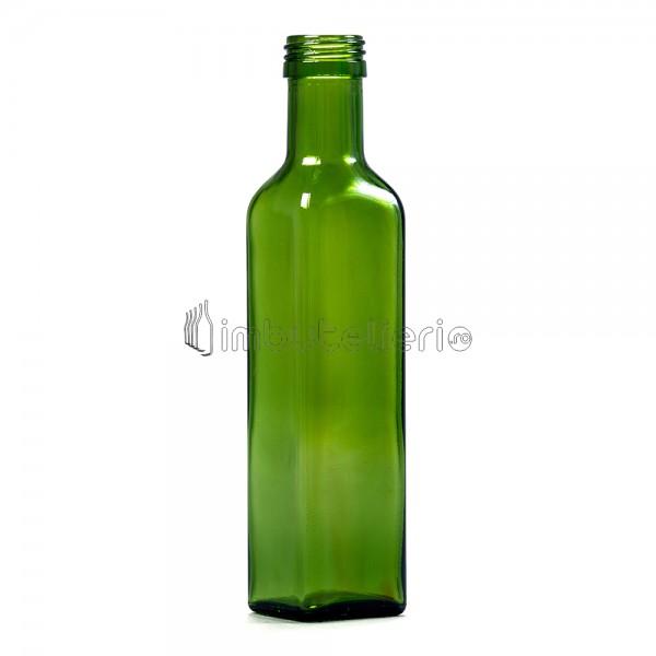 Sticla 250 ml Cognac Olive cu filet